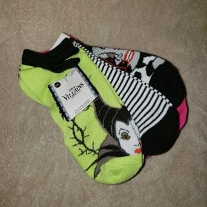 NWT Disney Villains womens socks ~10 pairs